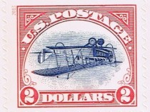 "Post Office Issues $2 ""inverted Jenny"" Stamp"
