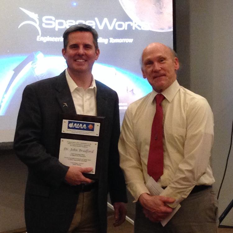 AIAA January 2017 Dr John Bradford & Bob Greene
