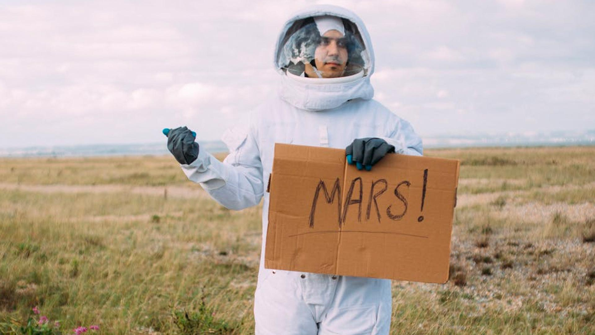 Want to Go To Mars?