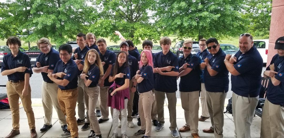 AIAA Atlanta Supports Creekview High School Rocketry Team