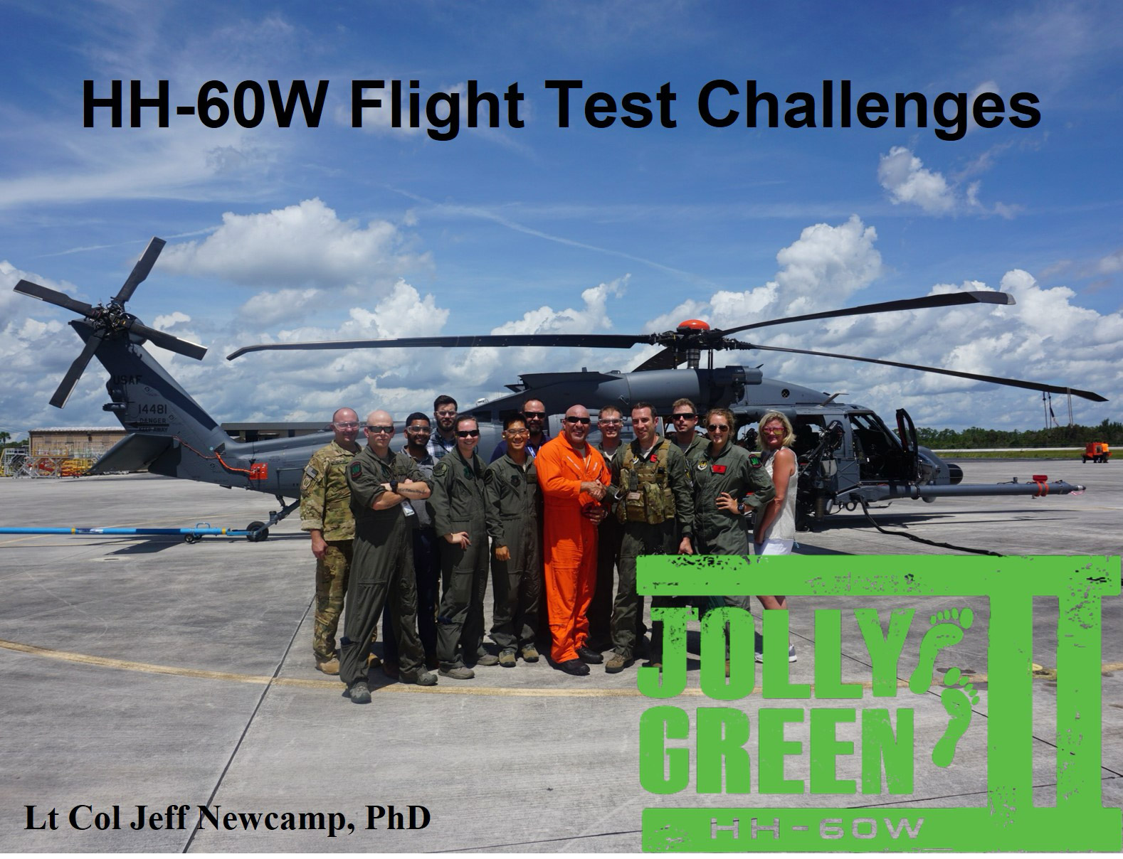 AIAA Atlanta – June 30th Speaker: Lt Col Jeff Newcamp